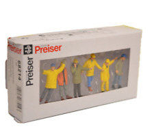 More details for preiser 68214 steeplejacks (set of 6 figures) 1:50 scale