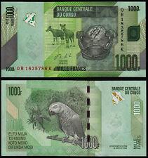 CONGO DEMOCRATIC REPUBLIC 1000 FRANCS (P101b) 2013 UNC