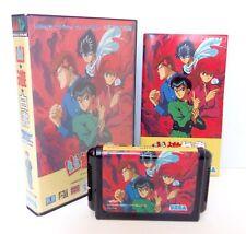 YU YU HAKUSHO GAIDEN Sega Megadrive Japan