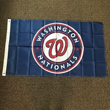 Mlb Washington Nationals New Flag 3' x 5' Metal Grommets