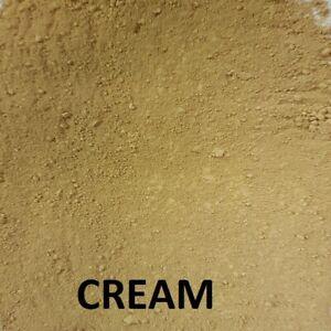 25kg CREAM  Dye/Pigment for Concrete, Render, Mortar & Cement colour dye