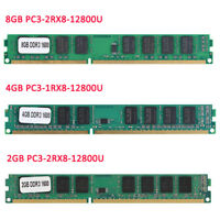 8GB 4GB 2G DDR3 DD4 1600/2400Mhz PC3-12800 PC4-19200 DIMM RAM Desktop Memory LOT