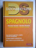 Dizionario spagnolo Italiano spagnolo vocabolario vallardi rilegato com nuovo 67