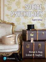 Social Psychology by Michael Hogg 9781292090450 | Brand New | Free UK Shipping