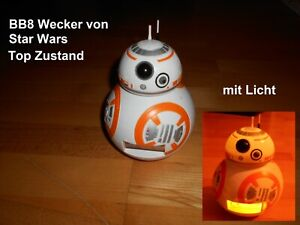 BB8 Wecker Star Wars mit Licht