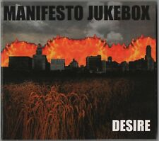 Manifesto Jukebox - Desire (CD 2000) Finnish Melodic Hardcore Punk Rock Unplayed