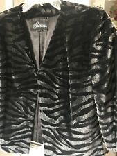 Gorgeous Cedric's Black/ Silver Jacket, Small