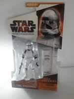 STAR WARS CLONE TROOPER SAGA LEGENDS LEGACY COLLECTION SL12 FIGURE BATTLE GEAR