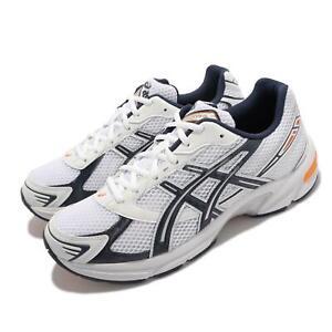 Asics GEL-1130 White Navy Orange Men Unisex Running Casual Shoes 1201A256-106