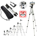 Professional Camera Tripod Stand + Phone Holder For Smartphone Samsung iPhone