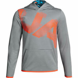 NWT UNDER ARMOUR Boys Armour Fleece® Printed Hoodie SELECT SIZE & COLOR