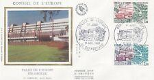 FRANCE 1982 FDC CONSEIL DE EUROPE YT SERVICE 73 et 74