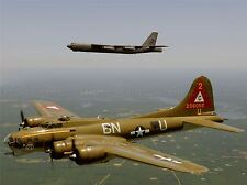 Aereo Militare piano Fighter Jet Bomber B17 B52 Poster Art Print Picture bb991a