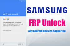 Samsung FRP Lock Google Account Removal/Reset All Models J2 A20 A205u A50 A6 S7