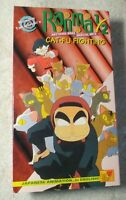 Ranma 1/2 Anything Goes Martial Arts CAT-FU FIGHTING 1995 Anime VHS NR #T37