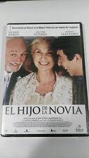EL HIJO DE LA NOVIA DVD RICARDO DARIN CASTELLANO SEALED PRECINTADA NUEVA