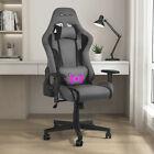 Ergonomic+Gaming+Chair+Office+Computer+Racing+Lumbar+Massage+Recliner+Swivel