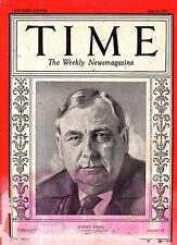 1929 Time May 6-Girls Gone Wild; Seance Exposed; Diego Rivera and his art; Italy