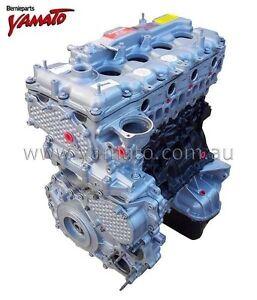 To Suit Holden Isuzu 4JJ1  4JJ1T 4JJ1TC  3.0L Turbo Long Engine Reconditoned