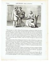 """1825 """"Saint Hugues Eveque de Grenoble"""" San Hugo Sant'Ugo (Chateauneuf-sur-Isere)"""