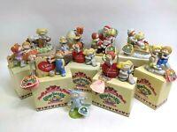 10 1984 Cabbage Patch Kid Porcelain Figures Christmas/Easter/Valentines Lot Vtg
