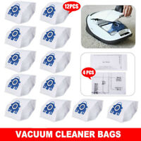 6/12PCS Vacuum Cleaner Bags for Miele 3D GN C2 C3 S2 S5 S8 S5211 S5210 S8310