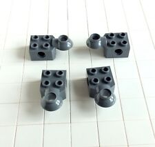 9 # Lego - Stein 2x2 Verbinder Bionicle neu dunkelgrau (48170) 4 Stück