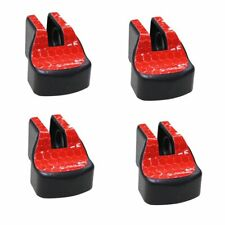 Door Check Arm Protection Limiting Stopper Case Cover Red 4Pcs For Toyota