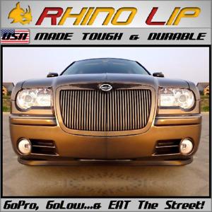 Chrysler 300 Front Flexible Rubber Universal Chin Lip Spoiler Splitter Edge Trim