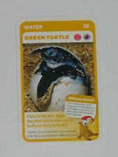 Woolworths Aussie Animals Baby Card -32 Green Turtle