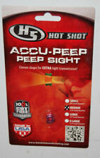 "Hot Shot Accu-Peep Peep Sight Pink - 3/16"" Medium"