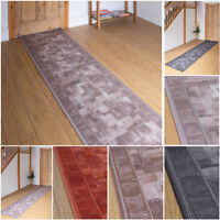 EXTRA LONG BROWN TERRACOTTA BEIGE BLACK FLOOR HALL HALLWAY RUNNER RUG CARPET MAT