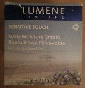 LUMENE Sensitive Touch, Daily Moisture Cream W/ Arctic Linen Seed 1.7 Oz./50 ml