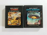 Space Invaders COMBAT Atari Game Lot Cartridges Only