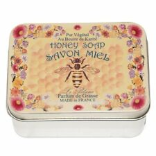 Savon Le Blanc Honey Soap in Honey Bee Tin - 3.5oz