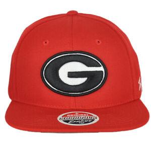 Georgia Bulldogs Cap NCAA College Cap Kappe Klett Grössenverstellbar