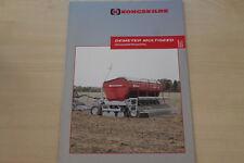 158894) Kongskilde Drillmaschine Prospekt 10/2003