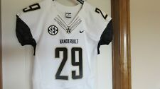 Vanderbilt Commodores Authentic Game Issued Used Jersey sz L