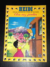 TEBEO HEIDI Nº 11. EDICIONES RECREATIVAS. COMIC AÑO 1976