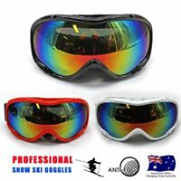 Unisex Snow Goggles Ski Glasses Dust-free Lens for Children Kid Outdoor Skiing