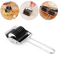 Stainless Steel Food Machine Rotary Press Herb Pasta Chopper Make Noodle Cutter