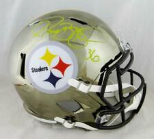 Jerome Bettis Autographed Pittsburgh Steelers F/S Chrome Helmet- Beckett W Auth