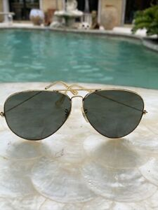 vintage Ray-Ban aviators USA Bausch & Lomb