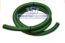 """3"""" x 20ft HD Green Super Flexible Water Suction Hose w/o Fittings"""