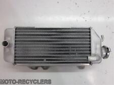 11 KX250F KXF250  Right radiator with cap New
