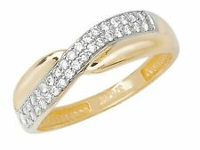 9ct Gelbgold Damen-Ring