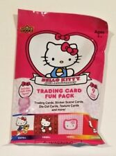 NEW Hello Kitty's 40th Anniversary Trading Card Fun Packs (9 Items Includ) RARE