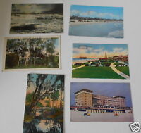 LOT OF 6 DAYTONA  FLORIDA FL VINTAGE POSTCARDS DAYTONA BEACH DAYTONA