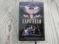 Cassette Tape CAPE FEAR Movie Music From The Motion Picture Soundtrack Bernstein