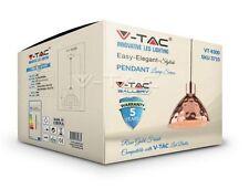 LAMPADARIO IN METALLO  V-TAC VT-8300 CROMATO CON PORTALAMPADA PER LAMPADINE E27